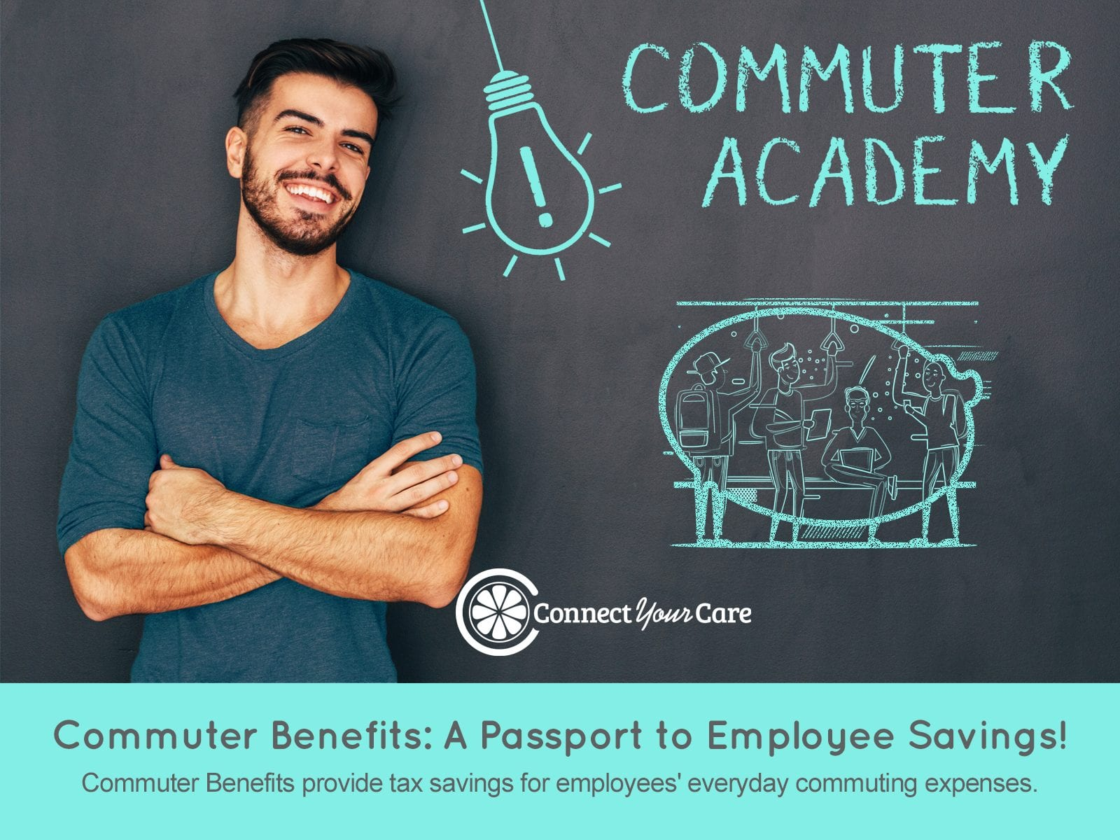 connectyourcare roadmap to commuter benefits infographic