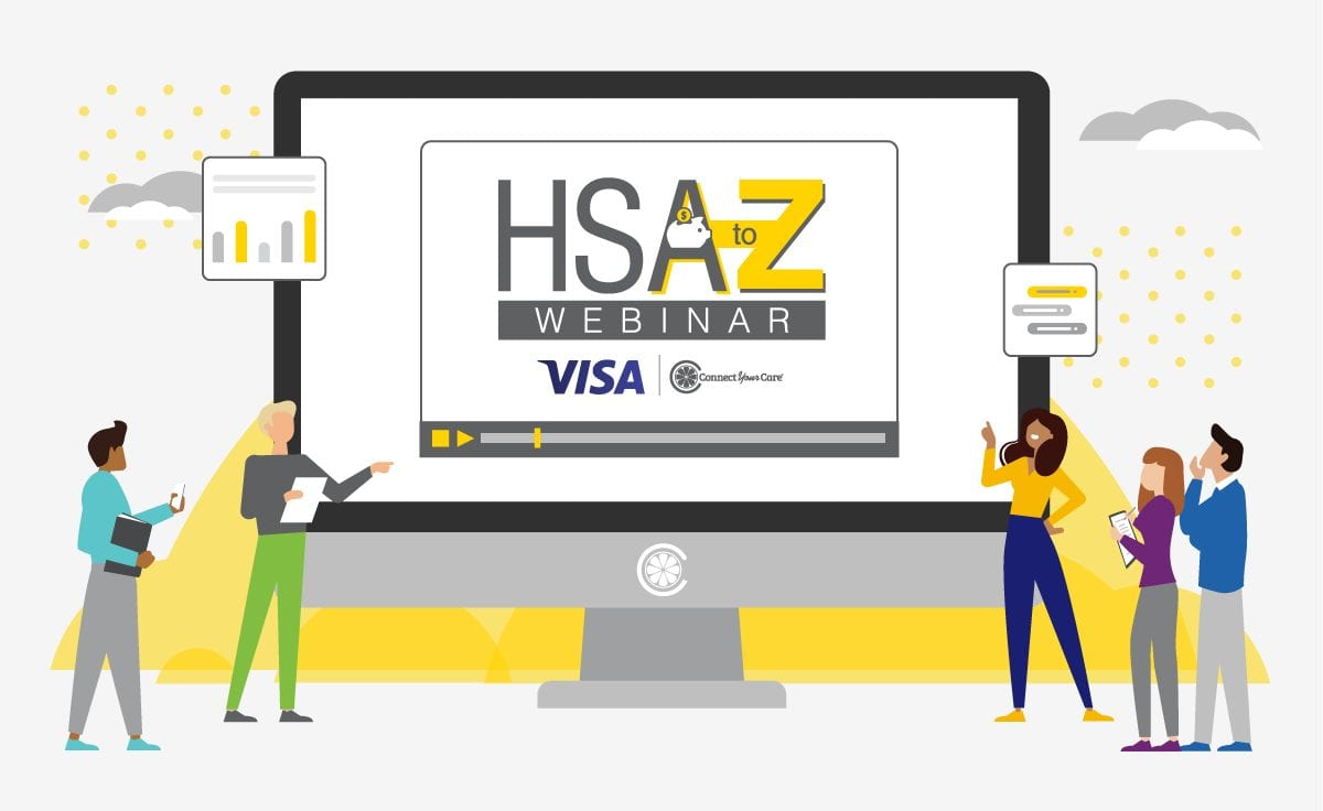HSA to Z webinar presented by Visa and ConnectYourCare